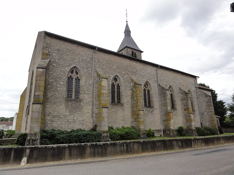 Saint-Clément (M-et-M) église
