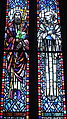 Saint Anthony of Padua Catholic Church (Dayton, Ohio) - stained glass, Sts. Cyril of Jerusalem & Bernard of Clairvaux.JPG