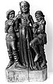 Saint Apollonia, carved group. Wellcome M0004888.jpg