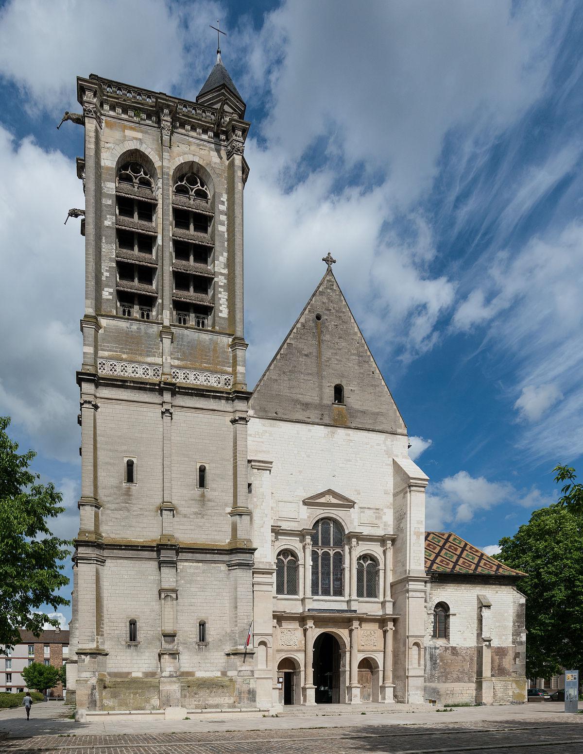 Glise saint nizier de troyes wikip dia for Statut illustrateur