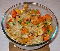 A fruit salad