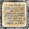 Salzburg - Stolperstein Morpurgo Edith - Rainerstraße 15 = Prodingerstraße 19-1.jpg