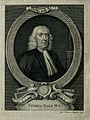 Samuel Dale. Line engraving by G. Vertue, 1737. Wellcome V0001440.jpg