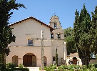 San Juan Bautista, California - Image: San Juan Bautista, CA USA Old Miision SJB panoramio (1)