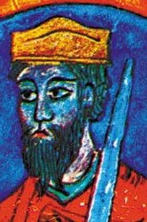 Urraca Sánchez of Pamplona - Urraca's son, king Sancho I of León