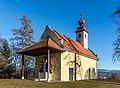 Sankt Veit an der Glan Kalvarienbergstraße Kalvarienbergkapelle Maria Loretto WSW-Ansicht 27122018 5730.jpg