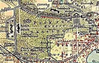 Sanssouci Park - Sanssouci Park around 1900