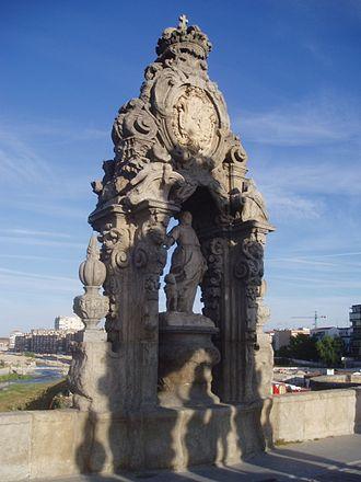 Bridge of Toledo (Madrid) - Image: Santa María de la Cabeza