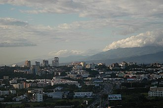 Santiago de los Caballeros - Panoramic view of Santiago.