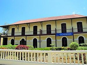 Banco Internacional de São Tomé e Príncipe - Image: Sao Tome Banco Internacional de Sao Tome e Principe (16247128161)