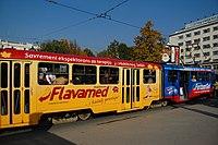 Sarajevo Tram-209 Line-3 2011-10-31 (2).jpg
