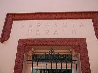 Sarasota Herald Building - Image: Sarasota FL Herald Bldg 03