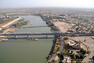 Al-Sarafiya bridge - Image: Sarifiyah Bridge, Baghdad, Iraq