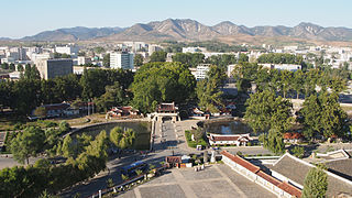 Sariwon Municipal city in North Hwanghae Province, North Korea