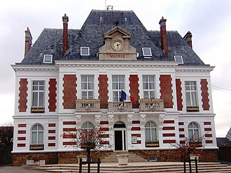 Saulx-les-Chartreux - The town hall in Saulx-les-Chartreux