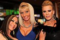 Savannah Jane (left), Kasey Storm (middle), Amber Lynn (right) - 2013 AVN Awards (8396772433).jpg