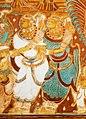 Scene from Gajendra Moksha Mural in Krishnapuram, 1730 CE.jpg