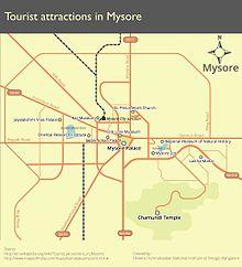 List of tourist attractions in Mysore - Wikipedia