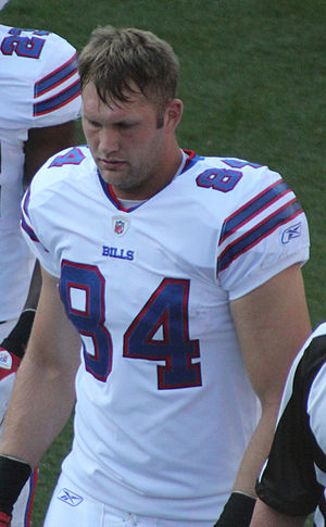 Scott Chandler (American football) - Chandler with the Buffalo Bills in 2011.