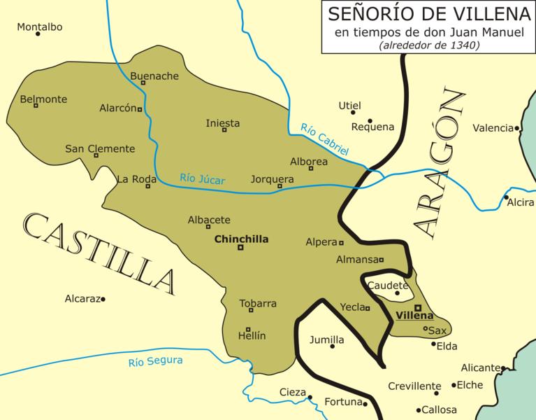 File:Señorío de Villena en 1340.png