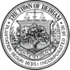 Official seal of Dedham, Massachusetts