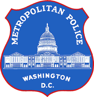 1968 Washington, D.C. riots - Image: Seal of the Metropolitan Police Department of the District of Columbia