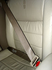 a three-point seat belt