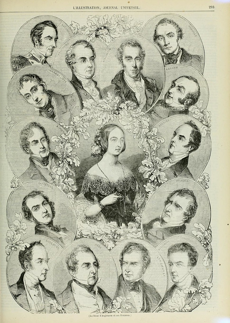 Second Peel Ministry 1844 engraving