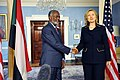 Secretary Clinton Shakes Hands With Sudanese Foreign Minister Karti (5391192730).jpg