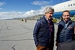 Secretary Kerry and Danish Foreign Minister Jensen Speak With Greenlandic Premier Kielsen and Foreign Minister Qujaukitsoq at Kangerlussuaq International Airport (27756191905).jpg