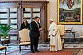 Secretary Pompeo Meets with Pope Francis (48838694551).jpg