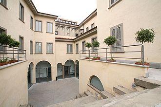 University of Bergamo - Image: Sede di Piazza Rosate, veduta del cortile interno