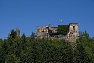 Burg Sommeregg - Image: Seeboden 08anfang 184