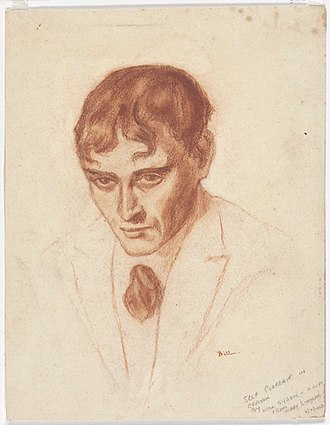 Will Dyson - Image: Self portrait of Will Dyson (1910)