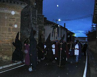 Bárcena de Campos - Semana Santa´s feast day in Bárcena de Campos.