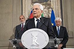 Sergio Mattarella in 2019