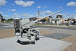 Seymour Vietnam Veterans Commemorative Walk Bofors 40 mm Gun 004.JPG