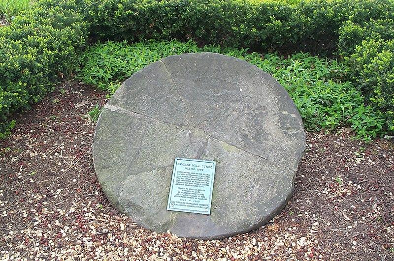 File:Shaker-mill-stone.jpg