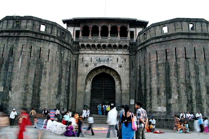 File:Shaniwar Wada fort, Pune.jpg