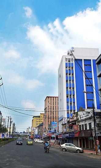 Shanmugham Road - One side view of Shanmugham Road, Kochi