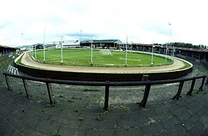 Clyde F.C. - Shawfield in 1985
