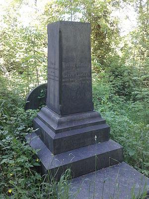 J. Batty Langley - Grave of Batty Langley, in Sheffield General Cemetery