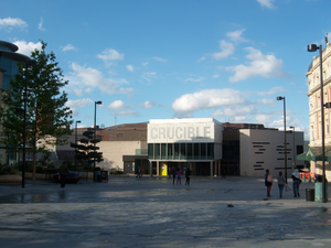 Crucible Theatre - Image taken July 2010
