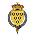 Shield of Arms of Hugh Lowther, 5th Earl of Lonsdale, KG, GCVO, DL.png