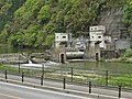 Shinkawahira hydroelectric power station weir.jpg