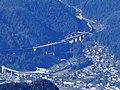 Shirotori-nishi Interchange from Mount Washi.jpg