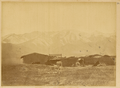Shiulijingza Station with a Yard and a Temple, on Tian Shan Mountain. Xinjiang, China, 1875 WDL2064.png