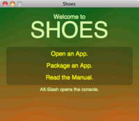 Shoes (GUI toolkit) - Wikipedia