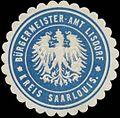 Siegelmarke Bürgermeister-Amt Lisdorf Kreis Saarlouis W0379745.jpg