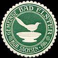 Siegelmarke Gemeinde Bad Elster Kgr. Sachsen W0314266.jpg